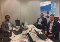 بازدید مدیران شرکت توسعه انرژی هامرز از دفتر مرکزی و کارخانه SKS Sensors فنلاند